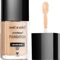 Wet And Wild Fhotofocus Foundation Golden Beige Terbaru