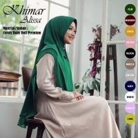 Promo Hijab Jilbab Khimar Syari Terbaru Alissa 2 Layer Jumbo Termurah
