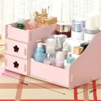 Kotak Laci Rak Tempat Kosmetik Organizer 25 X 16 Cm Co HOT SALE