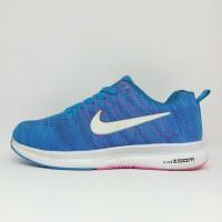 Sepatu Lari Wanita Running Nike Zoom Import Premium Joging Olahraga