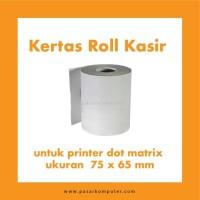 Kertas Roll 1 ply Ukuran 75 x 65 mm