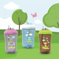 Baby Safe Sipper Cup With Weighted Straw 300 ml / Botol Minum Anak