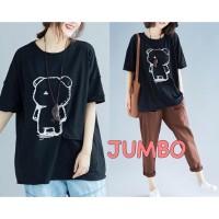 Damai fashion jakarta - baju atasan KAOS JUMBO - big size AMEL