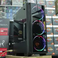 Termurah PC GAMING RYZEN 5 3400G/8GB DDR4/HDD 1 TB