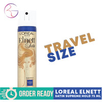 LOREAL ELNETT SATIN SUPREME HOLD 75ml TRAVEL SIZE