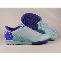 Sepatu Futsal Vapor XII Academy Sky Blue Purpple TF Replika Impor