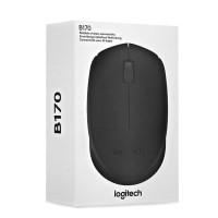 Logitech B170 Mouse Wireless Black Original