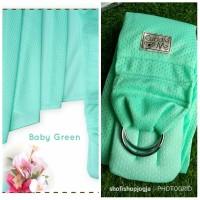 Cuddleme Gendongan Airsling / gendongan sling Warna Baby Green