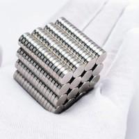 Magnet Super Neodymium Model Koin Bulat NdFeB 8 x 2 mm