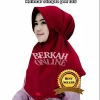 hijab instan khimar simple pet Tali nyamn di pakai jilbab murah khimar