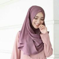 Hijab Jilbab Pashmina Instan Sala Oshi Bubblecrepe