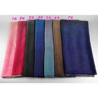 Pashmina / Hijab / Jilbab / Kerudung Muslim Motif Print Glitter Bahan