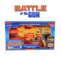 Mainan Tembakan Battle of the Gun Mainan Pistol Busa Soft Bullet
