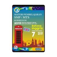 CD MATERI PEMBELAJARAN BAHASA INGGRIS - ENGLISH SMP-MTS KELAS 7
