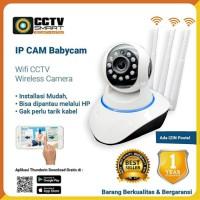 Kamera CCTV IP Camera Babycam 2MP Support Modem NEW