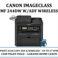Canon ImageCLASS MF244dw Multifunction Duplex Wireless Laser Printer