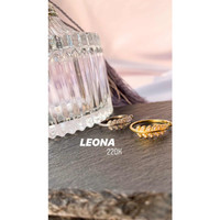 DearMe - LEONA Ring (S925 Silver with Crystals & 18KGold Plating)