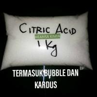 CITRIC ACID / CITRUN / ASAM SITRUS ( 1kg/ pack )