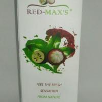 (Original) Jus Ekstrak Kulit Manggis Red Max's Premium