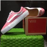 Sepatu Wanita Vans Old Skool Pink Size 36-40
