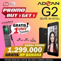 Promo Buy 1 Get 1 Advan G2 3/32GB Free HP Banana