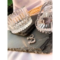 DearMe - TANIA Earrings (925 Sterling Silver with Crystals)