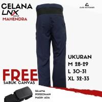 Celana Gunung LNX Gear Mahendra (Free Sabuk Canvas)