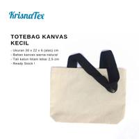 Tote Bag Kanvas Kecil ( Lunch Bag Canvas )