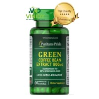 Green Coffee Bean Extract 800 Mg isi 60 Capsules