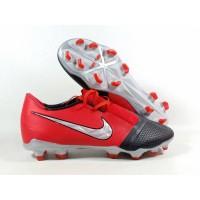 Sepatu Bola Phantom VNM Academy Bright Crimson / Black FG Replika Impo