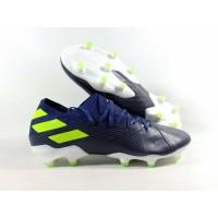 Sepatu Bola Nemeziz 19.1 Black Navy Volt FG Replika Impor