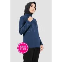 Manset Baju Belinda Atasan Lengan Panjang Fit XL - Manset Baju Leher -