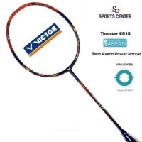 NEW HOT ITEM !!! Raket Badminton Victor Asean Thruster K 015 ( 4U G5 )