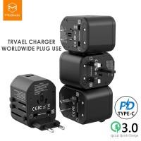 Mcdodo Universal Travel Charger Fast Charging PD + QC Worldwide Plug