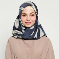 Dian Pelangi Scarf Katun Abstrak Jilbab Segi Empat Original Murah