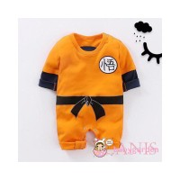 Baby Boy Long Sleeve KungFu Chinese Stlye Romper Jumpsuit Clothes