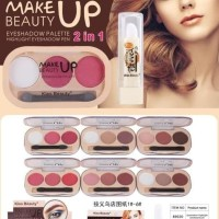 Promo 2In1 Eyeshadow Pallete And Highlight Eyeshadow Pen Kiss Beauty