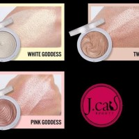 Promo J.Cat Beauty You Glow Girl Baked Highlighter (Crystal Sand)