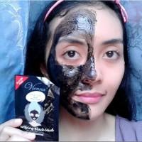 Masker Wajah Vienna Face Mask Purifying Black Mud BPOM Original