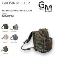 GM Tas Selempang Tactical 803 Loreng Premium