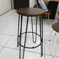 Barstool Skelly Kursi Bar Kafe Industrial