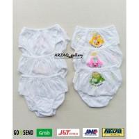 CD YUTIND KIDS 052 RENDA   Celana dalam anak renda dasar putih