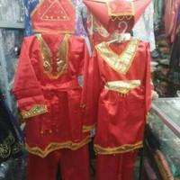 baju adat Padang anak Laki laki ukuran L