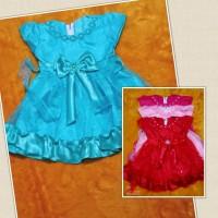 dress pesta bayi Rufa kidz