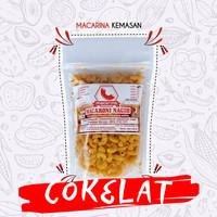 Macarina (Macaroni Nagih) Pouch Rasa Chocolate Cemilan/Snack Hitz