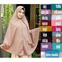 Jilbab hijab syar i SUPER jumbo XXL Khimar pet jumbo uk.130 Khimar jum