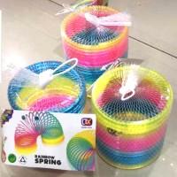 Rainbow Spring/ Mainan Anak Magic Spring Rainbow