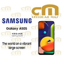Samsung Galaxy A50s 4/64 RAM 4GB ROM 64GB GARANSI RESMI SEIN - Putih