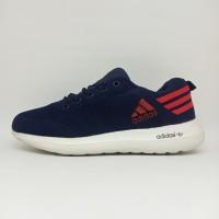 Sepatu Adidas Cloudfoam Running Wanita Cewek Olahraga Joging Lari