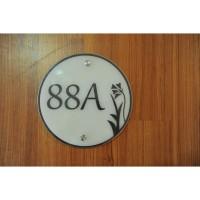 Nomor Rumah Akrilik / Sign Rumah Akrilik Idea067